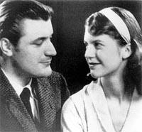 Ted huhges and Sylvia