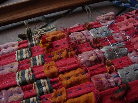 On_loom_quilting