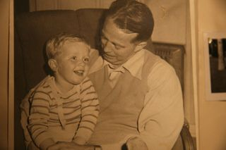 Dad and chip - 1946?
