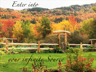 Your Infinate Source Bliss Farm Stowe Vermont
