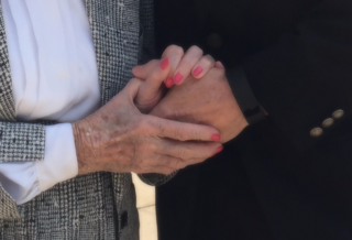 With mom hands - photo by martha May, 2016b