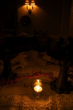 Candlelight table