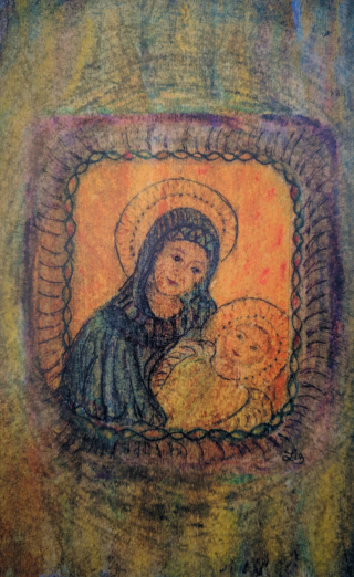 Mother Mary and Christ Child Dec 2018