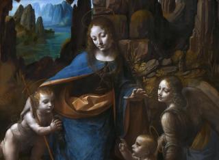 Madonna of the rocks - davinci 1495