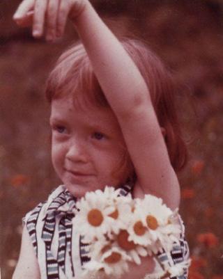 Liz age 3