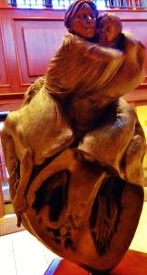 Healing Heart Sculpture Sanford-Heart Institute Sioux Falls SD