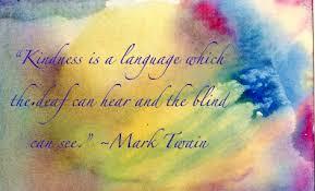 Kindness-Mark Twain