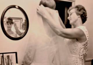 Kirsten bridal veil - Marian 2