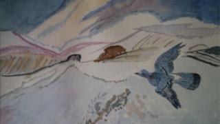 Bluebird of paradise - marian lokvam '93