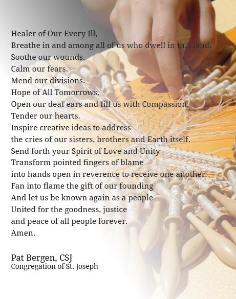 Prayer for Unity-1