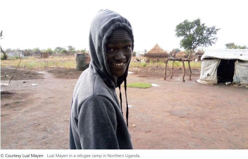 Lual Mayen Refugee Camp Uganda