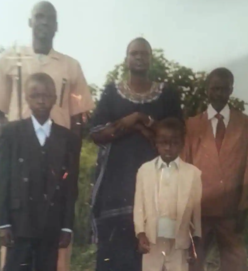 Lual and Family