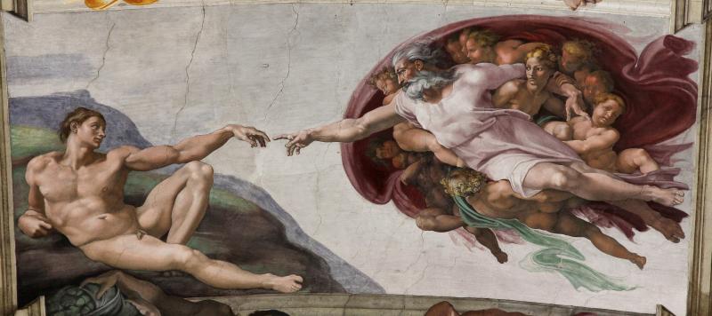 'Adam's_Creation_Sistine_Chapel_ceiling'_by_Michelangelo_JBU33cut